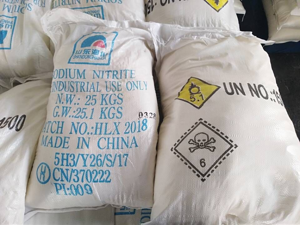 Sodium Nitrite Package